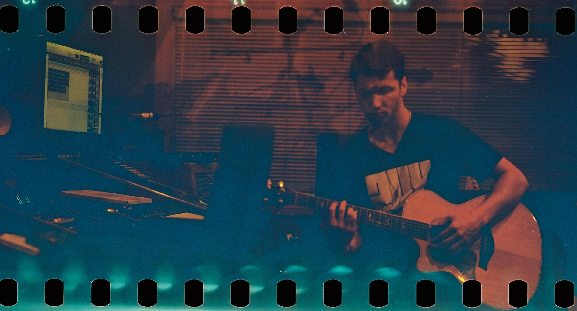 Corey Gray in Studio